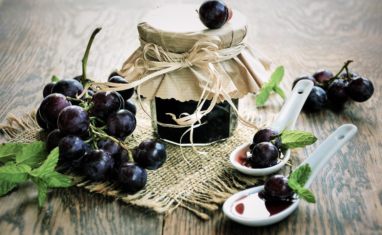 Marmellata di uva americana