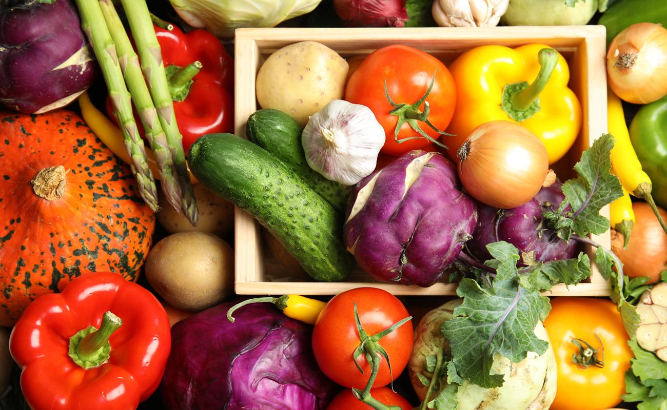 A tavola con i colori del benessere