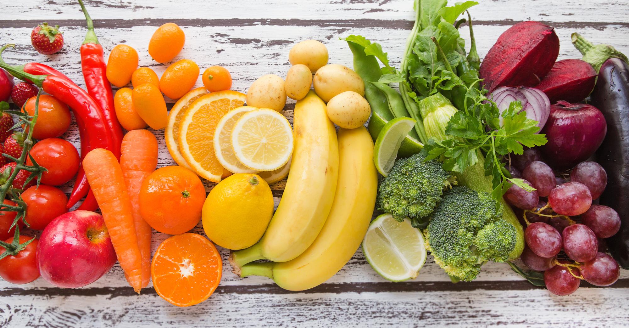 Frutta e verdura: medicinali per combattere le allergie primaverili