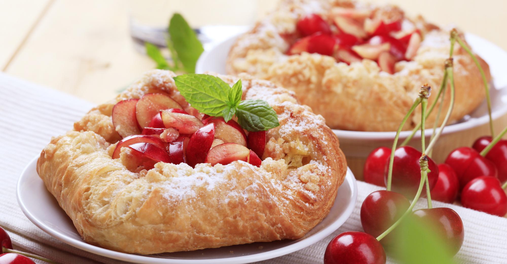 Cherry Danish Cake