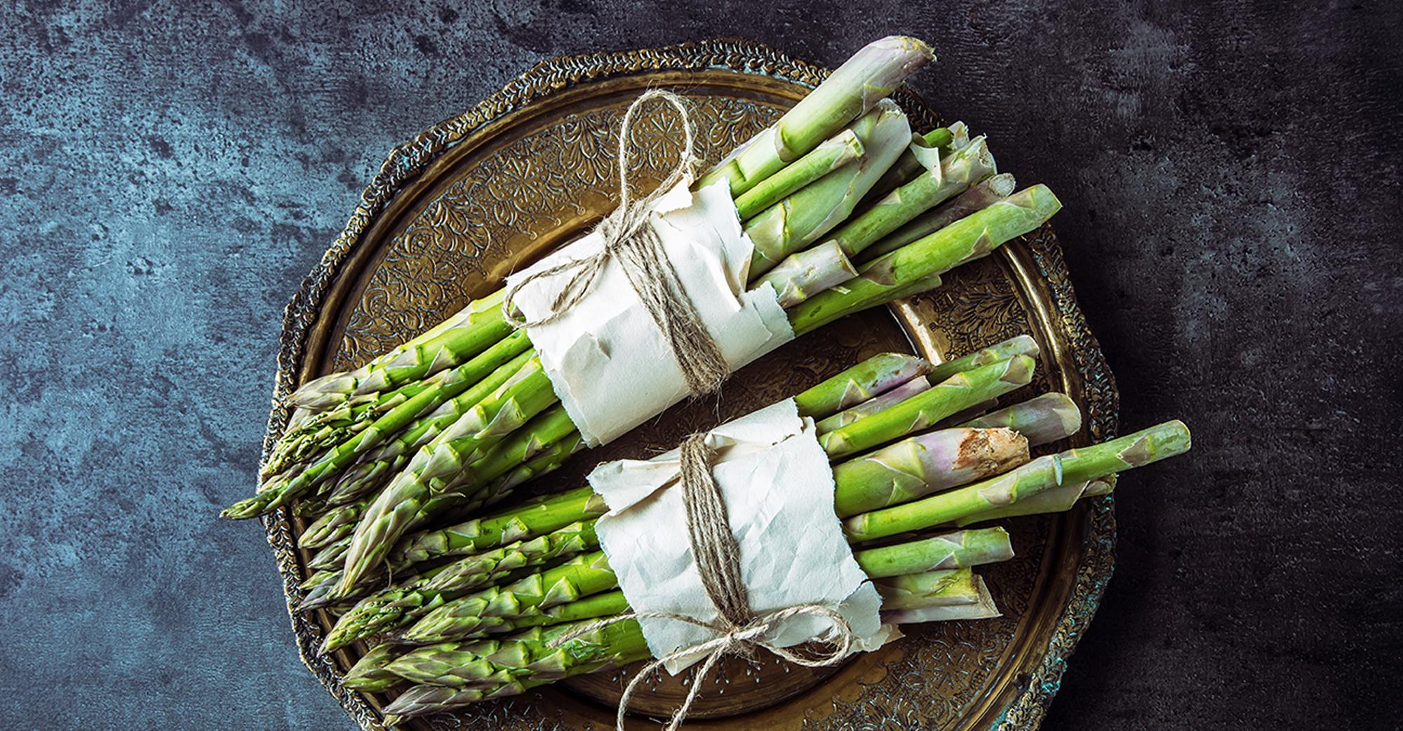 Tanti colori un solo ortaggio: l'asparago